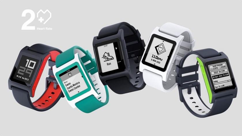 Heart Rate иSE— новые модификации смарт-часов Pebble 2