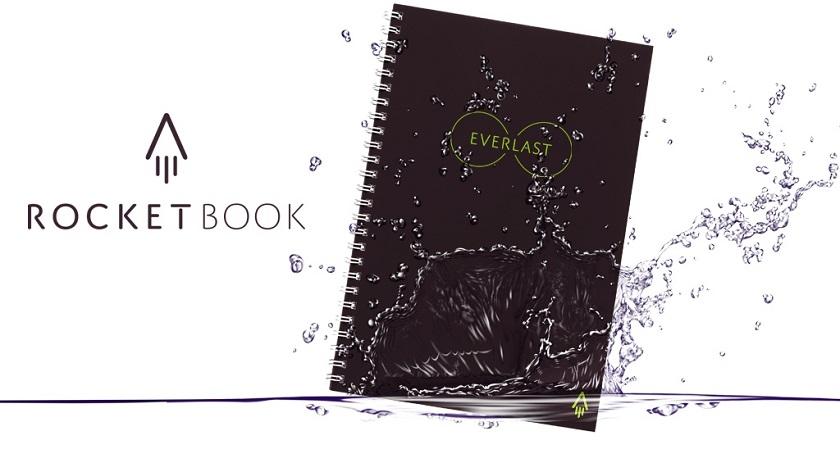 Создан самостирающийся блокнот Rocketbook Everlast