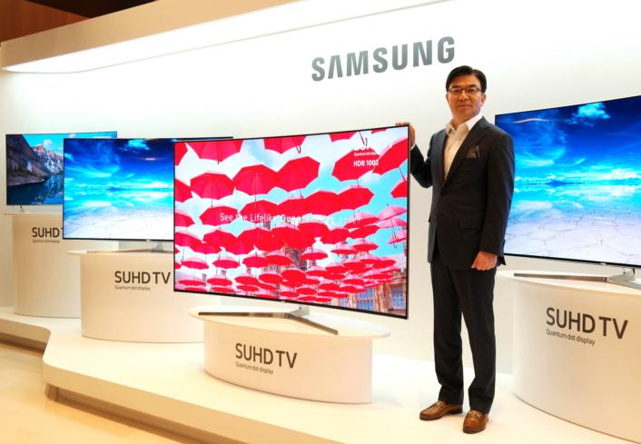 Глобальный запуск новой линейки SUHD-телевизоров Samsung с квантовыми точками