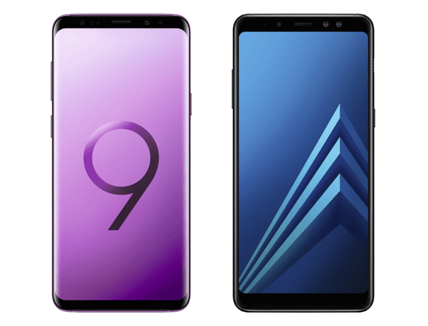 Samsung introduced the Galaxy S9 and Galaxy A8 Enterprise Edition