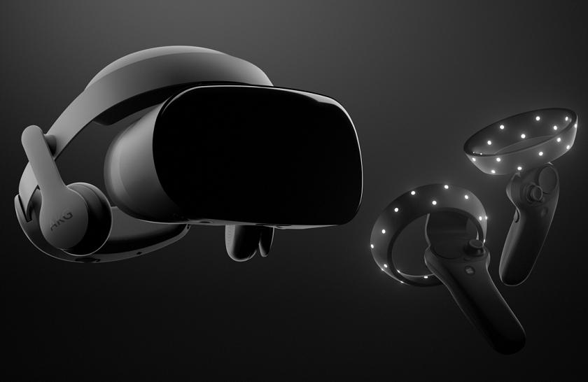 Самсунг представила виртуальный шлем HMD Odyssey для Windows Mixed Reality