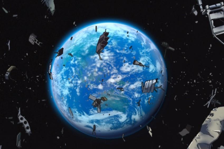 КНР будет обстреливать космический сор лазером