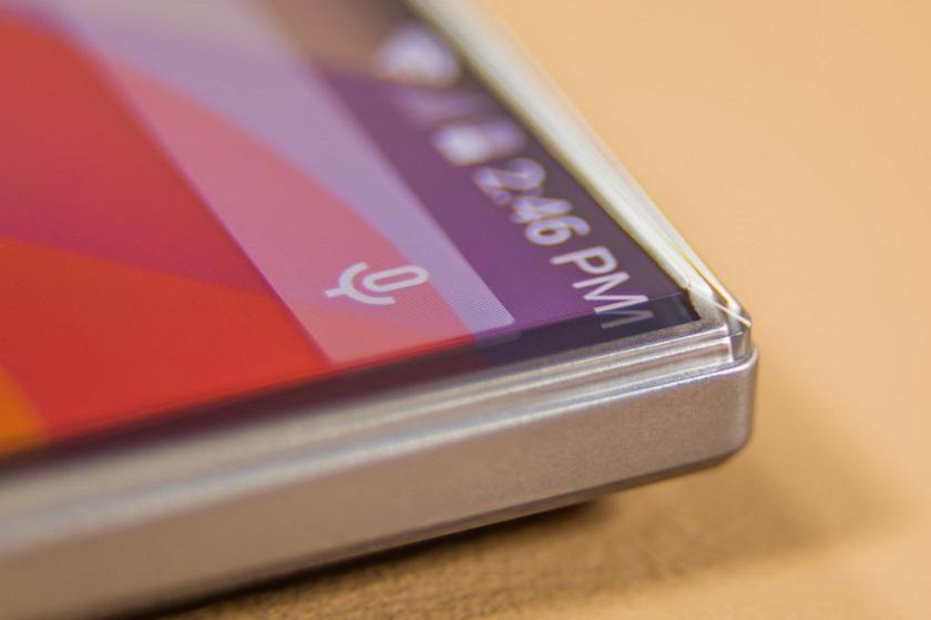 В Сети показались первые фото нового безрамочного смартфона Sharp