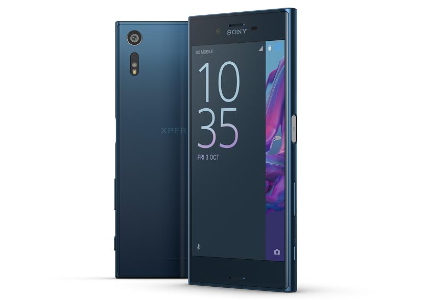 Смартфон Sony XperiaXZ появился впродаже
