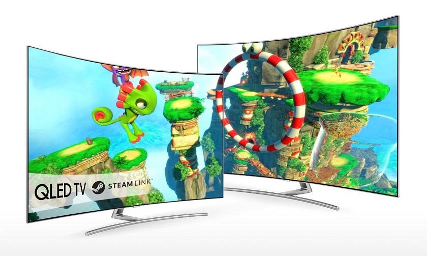 Samsung Steam Link: первое игровое приложение для владельцев Smart TV