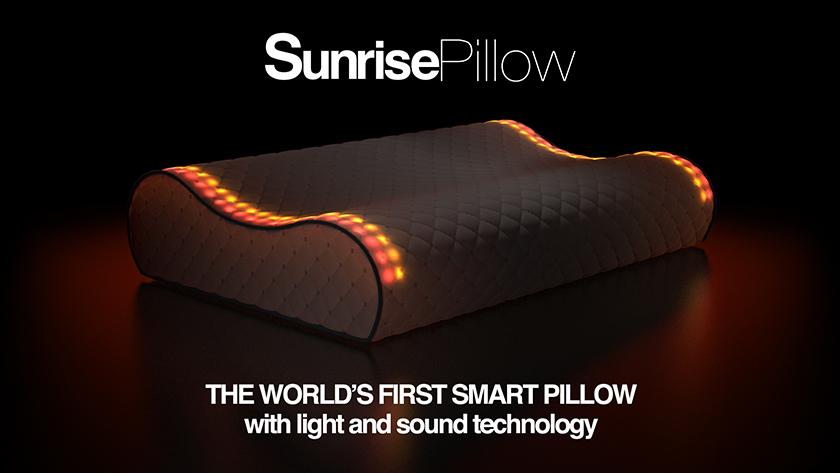 Умная подушка Sunrise Smart Pillow успешно собрала деньги на Kickstarter