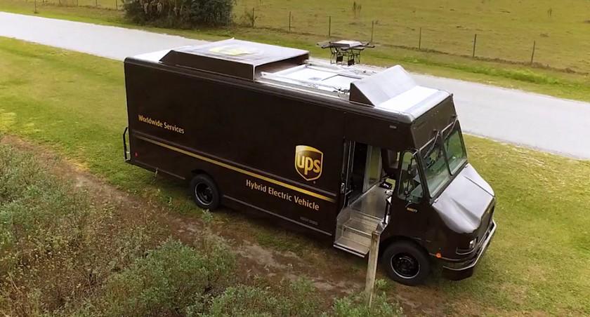 UPS тестирует дроны для экспресс-доставки посылок