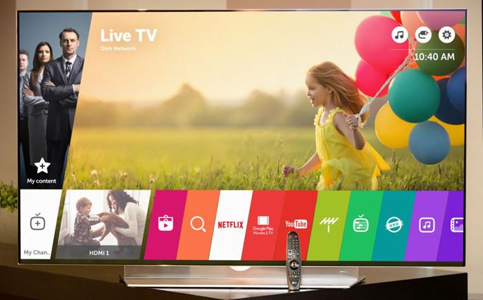 """LG выпускает обновление webOS 3.0 для """"умных"""" телевизоров"""