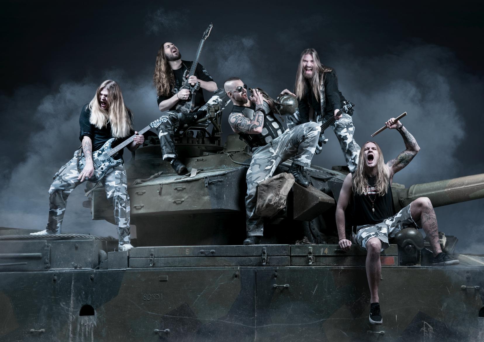 В World Of Tanks появится саундтрек хэви-метал-группы Sabaton