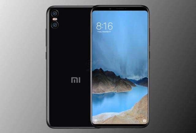 New Xiaomi Mi 7 renderers: the iPhone X and Galaxy S8 frameless hybrid