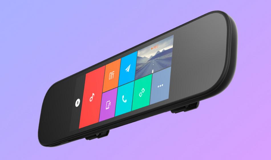 Xiaomi представила «умное» зеркало для автомобиля Mi Смарт Rearview Mirror