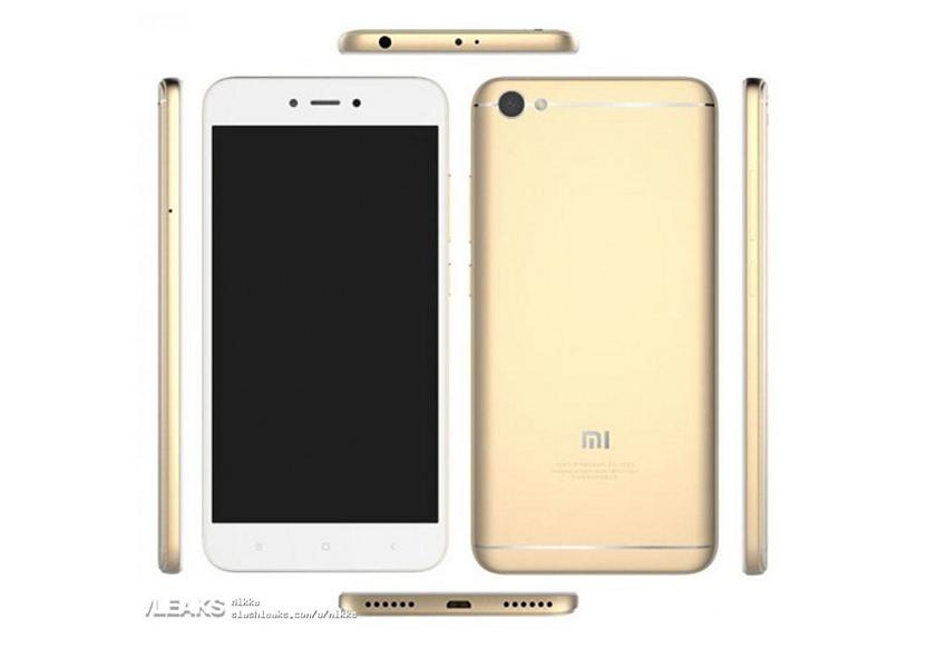 Фаблет Xiaomi Redmi Note 5A выйдет в трех вариантах
