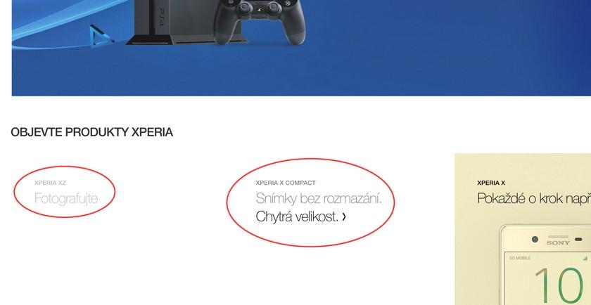 Сони планирует выпустить новый смартфон Xperia XCompact