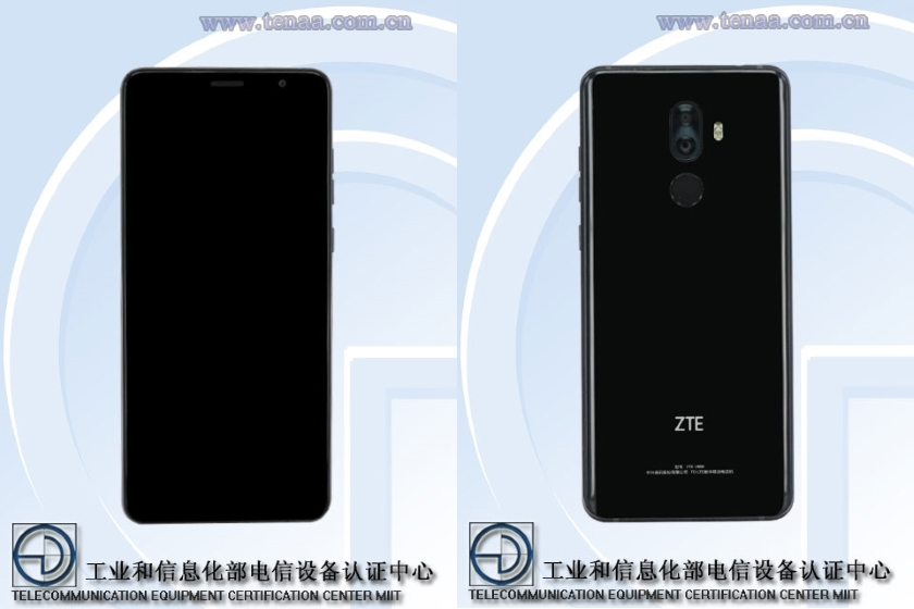 ZTE V890 in TENAA: photos and features of the smartphone