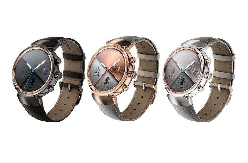 Умные часы Asus ZenWatch 3 представлены официально