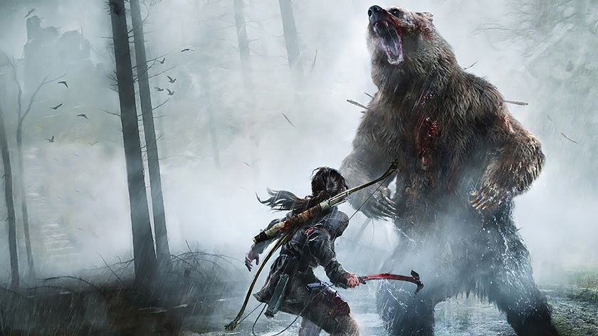 Релиз Rise of the Tomb Raider на Windows 7 и 8