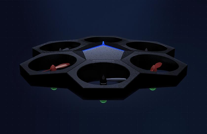Airblock Drone: первый в мире программируемый модульный дрон