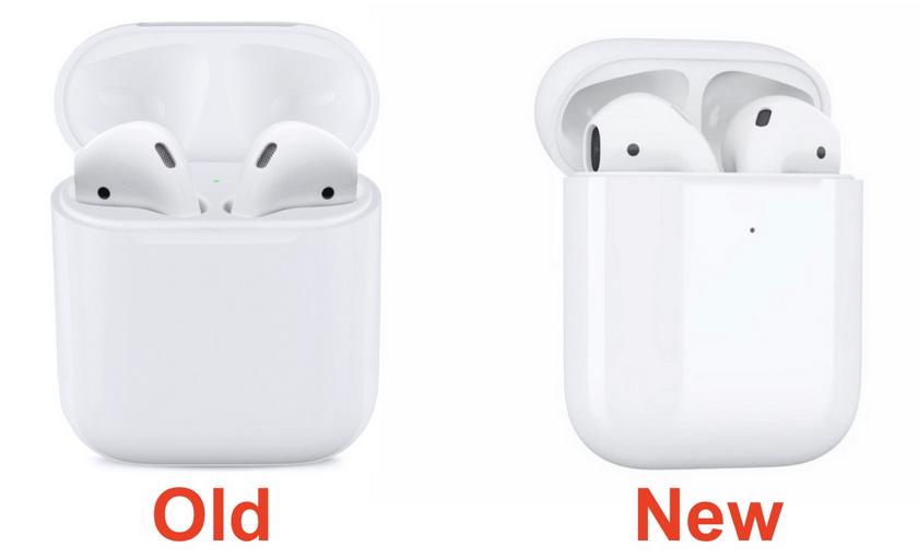Новый кейс для Apple AirPods поддерживает беспроводную зарядку