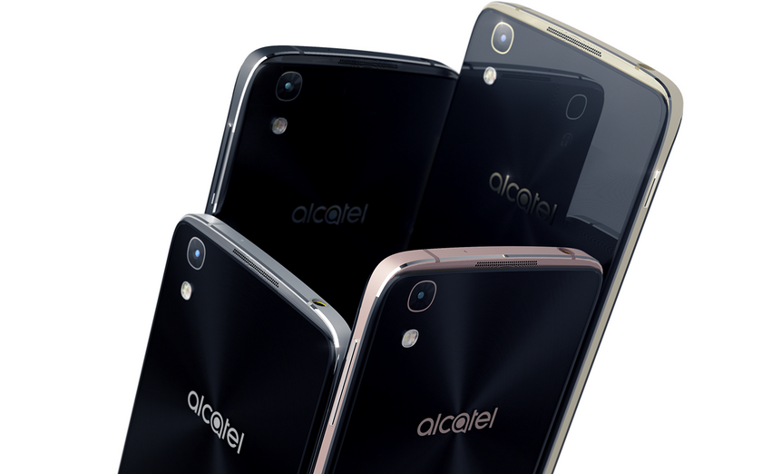 Standard applications on smartphones Alcatel has replaced advertising junk