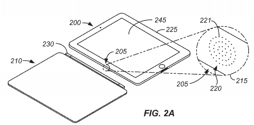 Apple запатентовала оптический интерфейс