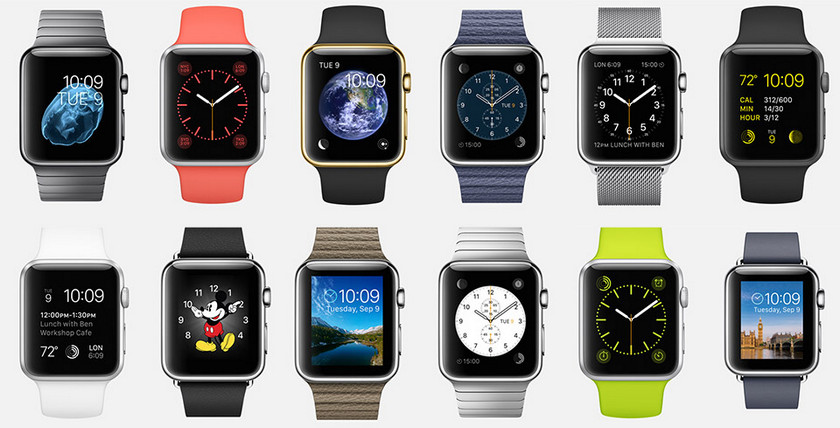 Код watchOS намекает на сторонние циферблаты для Apple Watch