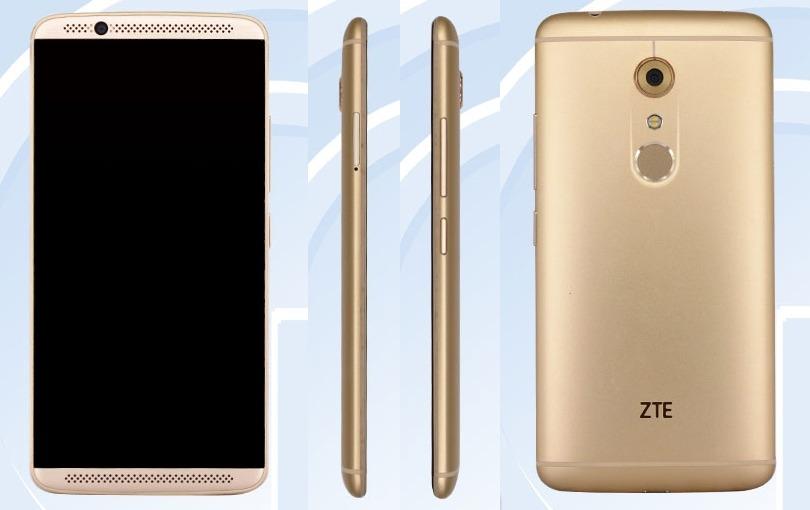 Смартфон ZTE Axon 2 предстал во всей красе