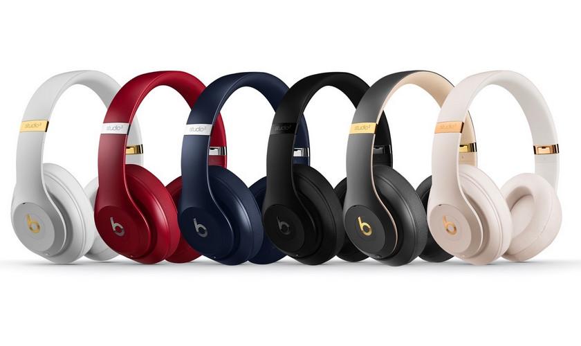 Apple выпускает беспроводные наушники Beats Studio Wireless 3 сизоляцией звука