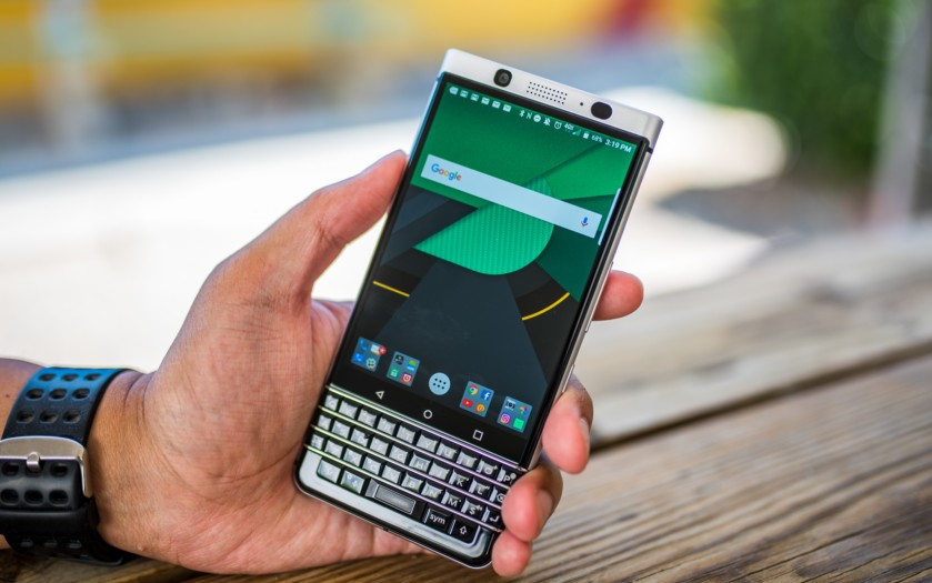 The network has accessories for BlackBerry KEYone 2