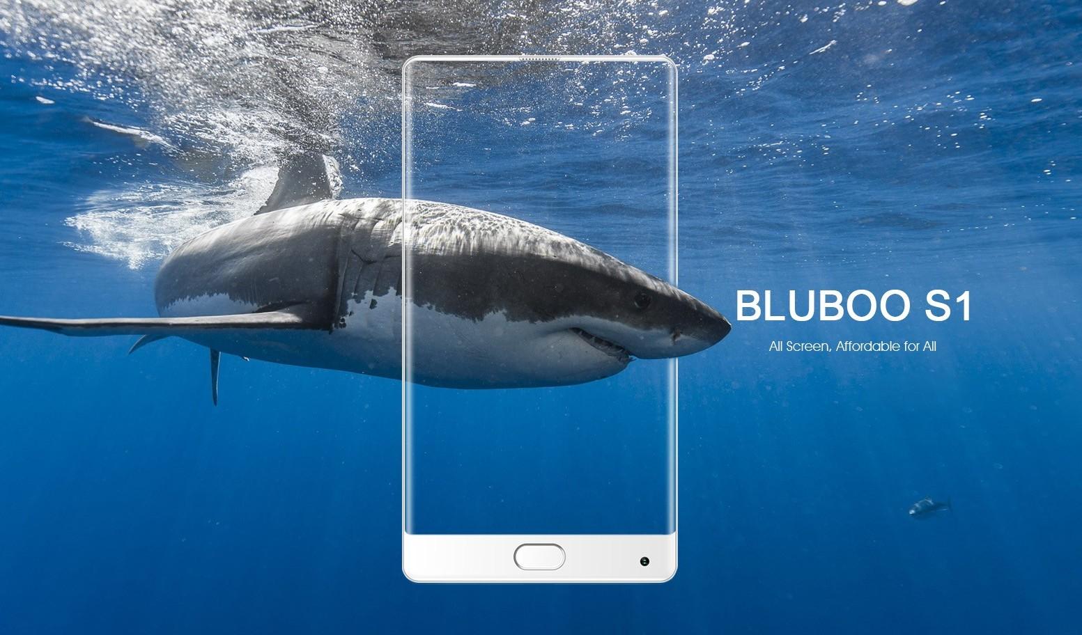 Компания BLUBOO представила бюджетный безрамочный телефон BLUBOO S1