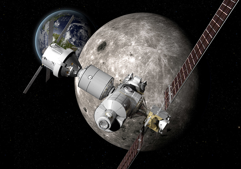 Boeing представил концепт марсианской миссии