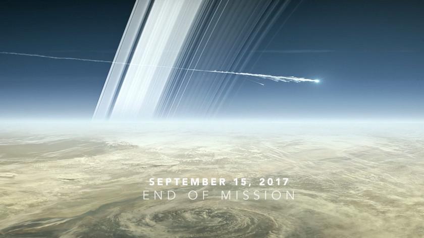 Зонд «Кассини», долгие идлительные годы исследовавший окрестности Сатурна, сгорел ватмосфере гиганта