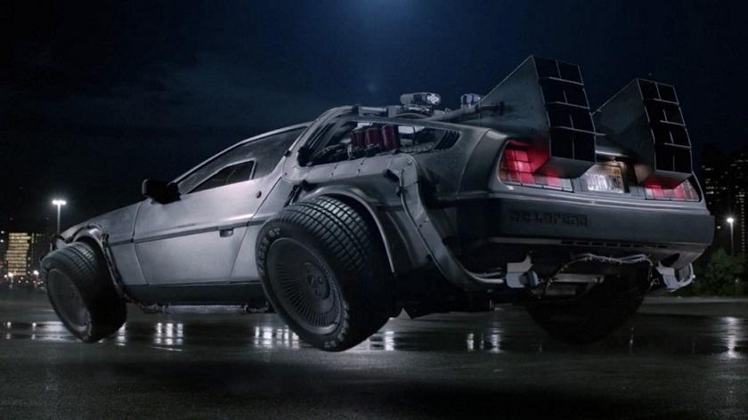 Компания DeLorean работает над летающим электрокаром