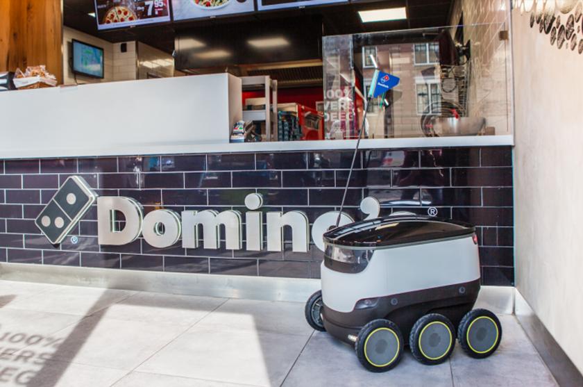 Domino's начнет доставлять пиццу при помощи роботов
