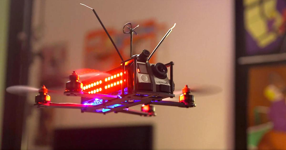 Drone Racing League 2016: гонки на дронах становятся спортом
