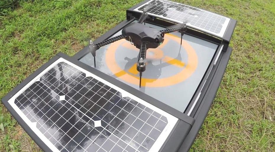 Автономная зарядная станция Dronebox позволит работать дронам месяцами