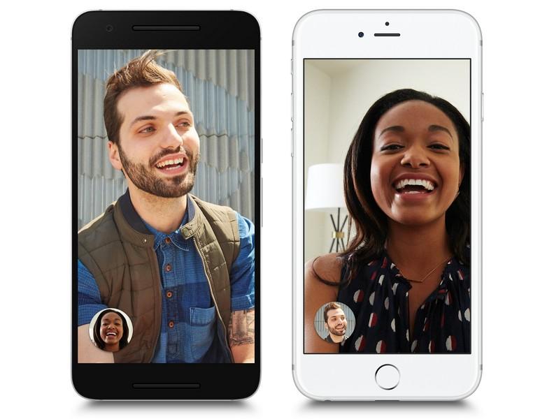 Google объявила о запуске видеомессенджера Duo для iOS и Android