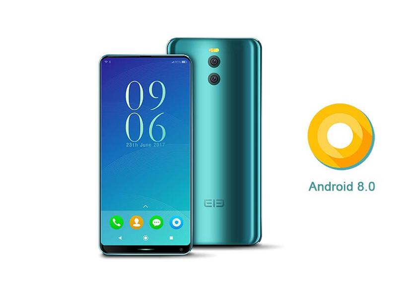 Elephone уже рекламирует анонс безрамочного флагмана сОС андроид 8.0