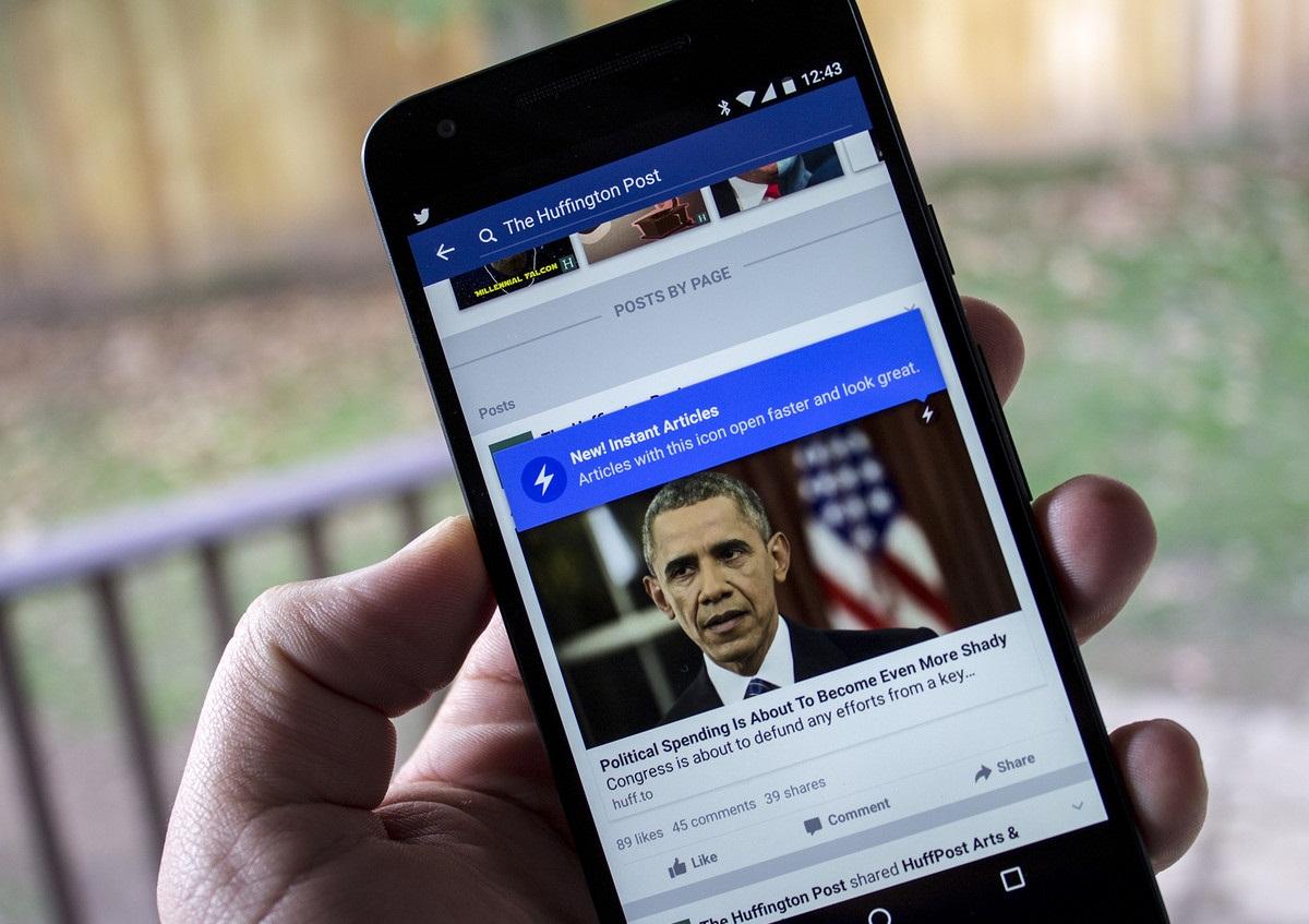 Фейсбук начнет помечать публикации СМИ, которым «можно доверять»