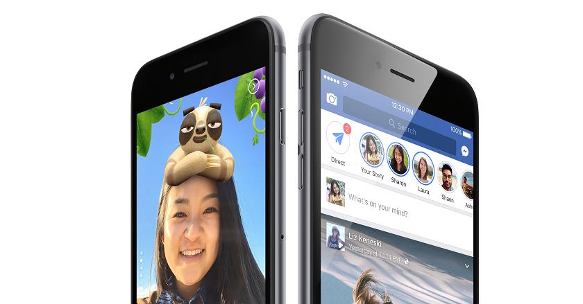 Facebook добавил в «истории» голосовые сообщения, облако для хранения фото и архив