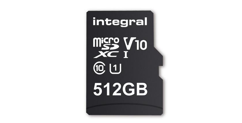 Создана первая в мире карта памяти microSD объемом 512 ГБ