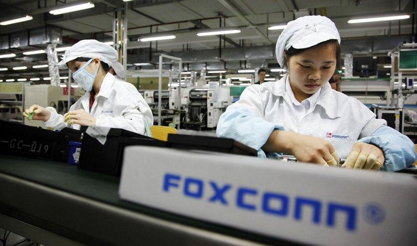 Работник  Foxconn похитил  iPhone на100 млн.  руб.