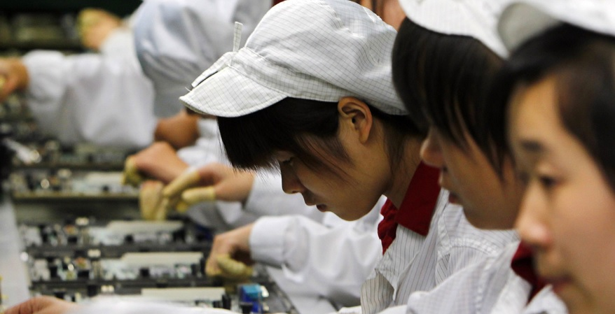 Новости: В Китае студентов принуждали изготавливать iPhone X