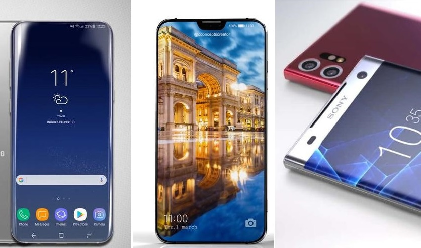 The results of the week: rumors about the Galaxy Z (2018), video three-eyed Huawei P11, update LG V30 to Android 8.0 and other important news