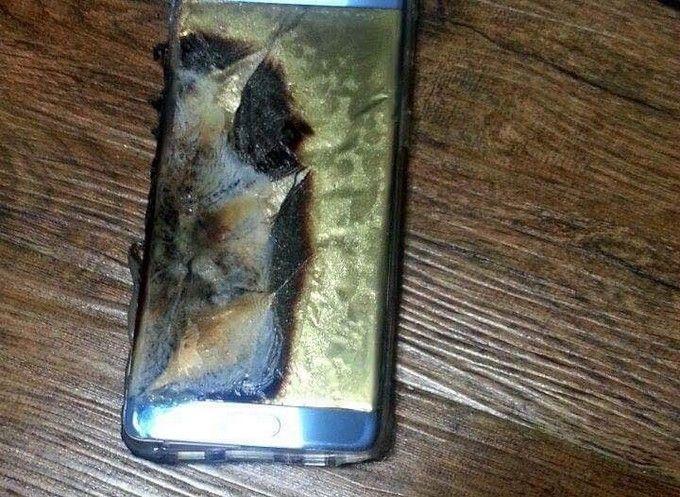 Самсунг прокомментировала «батарейный кризис» Galaxy Note 7