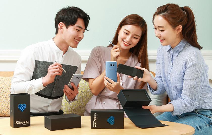 Samsung Galaxy Note 8 получит ценник в $1100