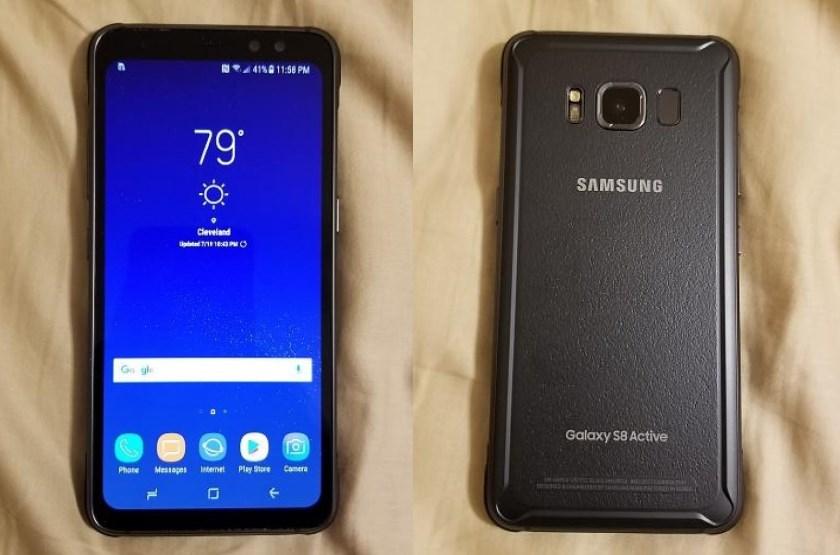 Защищенный Samsung Galaxy S8 Active показали на видео