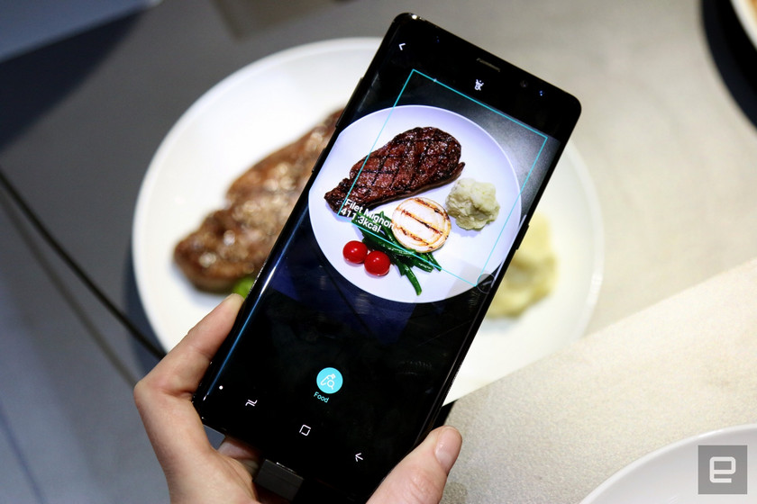 CES 2018: Samsung Teaches Bixby to Count Calories in Food