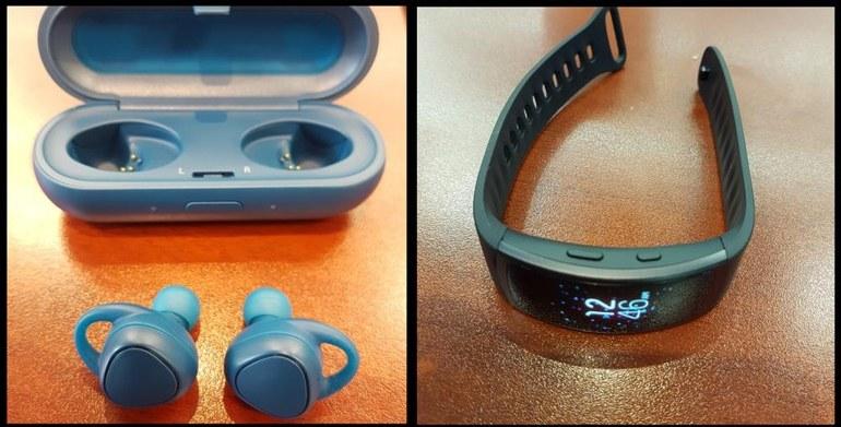 Samsung выпустит новый фитнес-браслет и «умную» гарнитуру