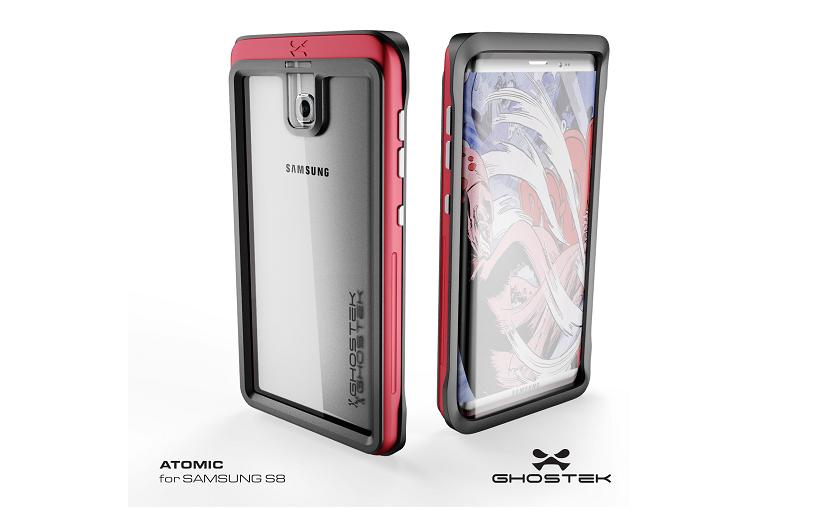 Чехол Ghostek для Samsung Galaxy S8 раскрыл внешний вид флагмана