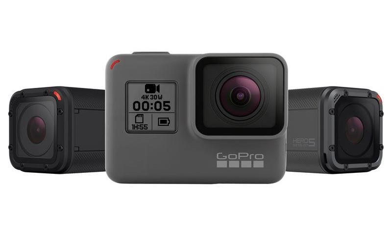 Экшн-камера GoPro Hero5 не боится воды и слушает пользователя